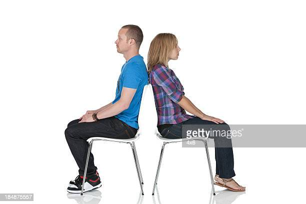 couple crisis - sitting stock pictures, royalty-free photos & images