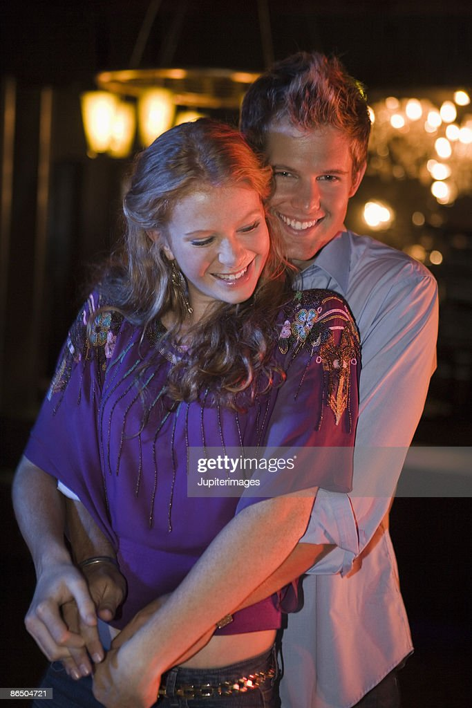 Couple dancing in nightclub : Stock Photo