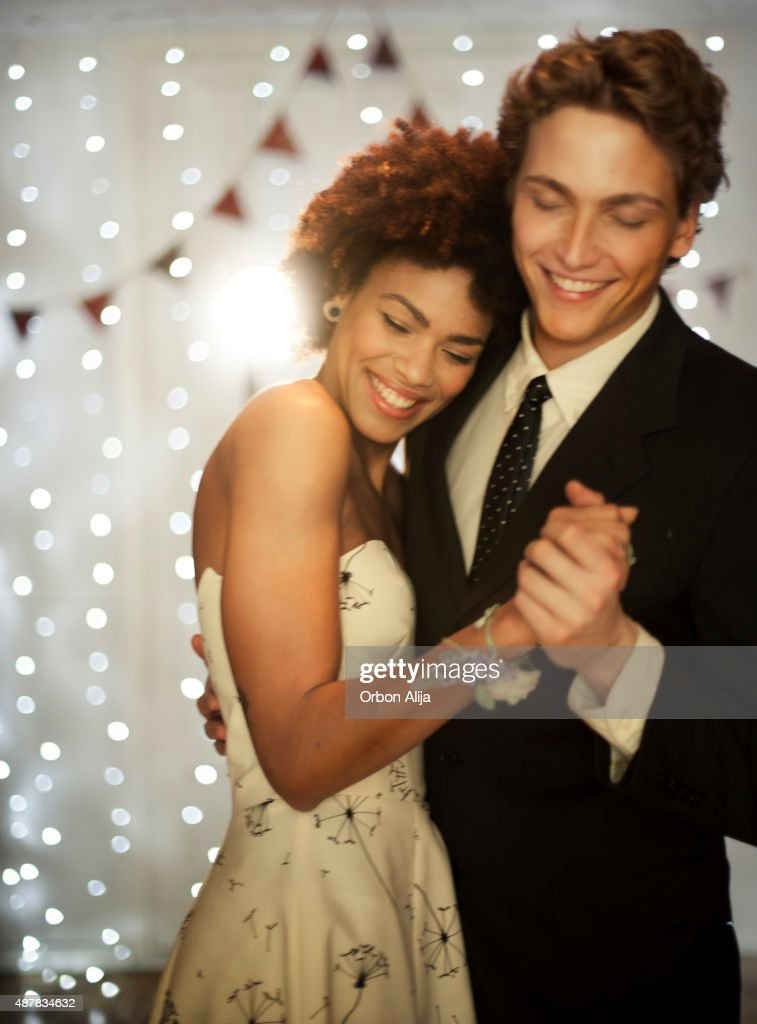 Couple dancing on dance floor : Stock Photo