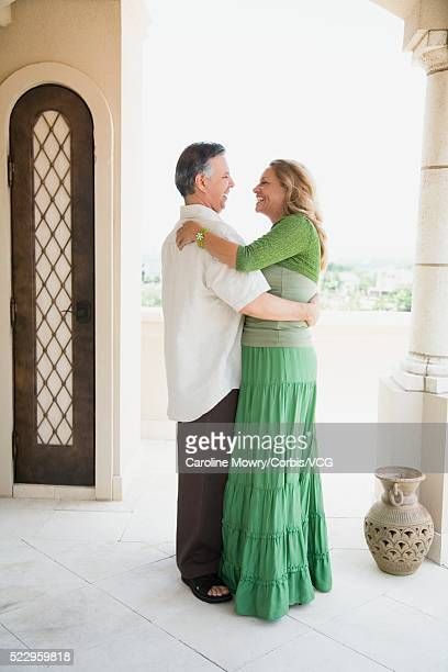 couple dancing - older women in short skirts stock pictures, royalty-free photos & images