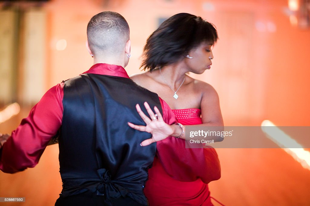Couple Dancing : Stock Photo