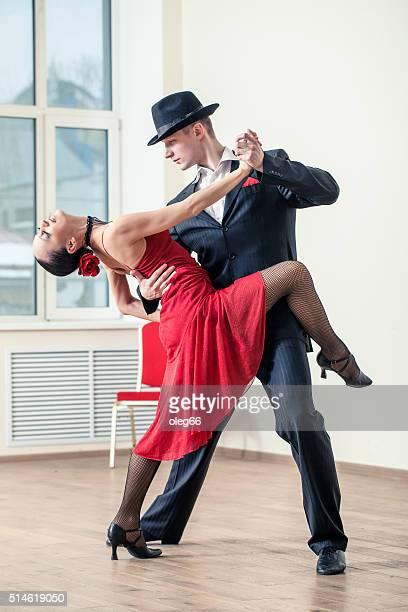 Pareja de baile de Tango argentino