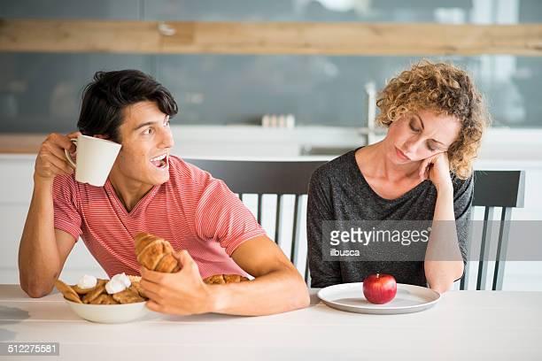 Paar Ernährung
