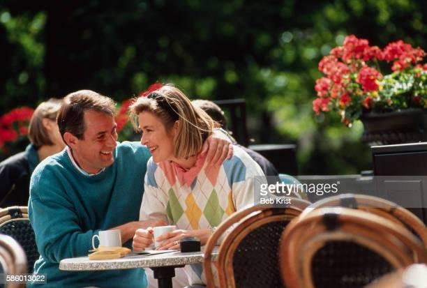 Couple Dining Alfresco