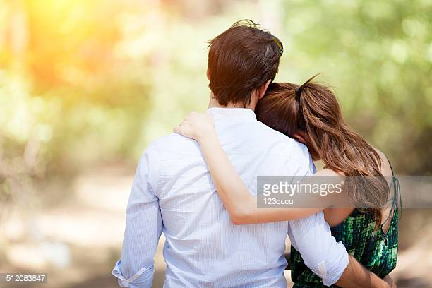 couple embracing - heterosexual couple photos stock photos and pictures