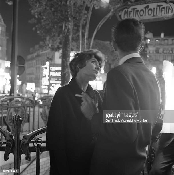 A couple enjoy the sights in Paris September 1960
