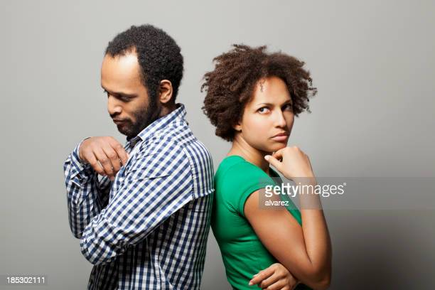 Couple experiencing difficulties