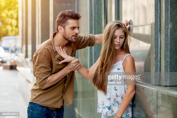 couple fighting - dismissal stock photos and pictures