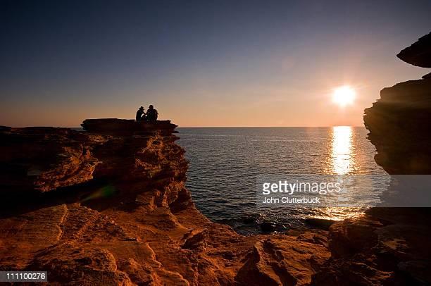 Couple, Gantheaume Point Broome WA