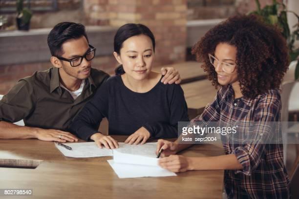 Asesoramiento financiero consigue pareja