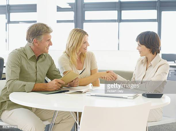 Paar Gruß financial advisor