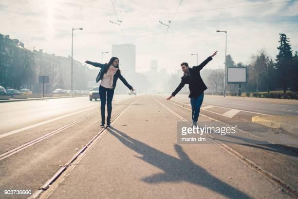 Couple heureux