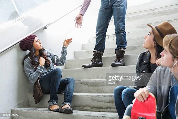 Paar mit ein argument