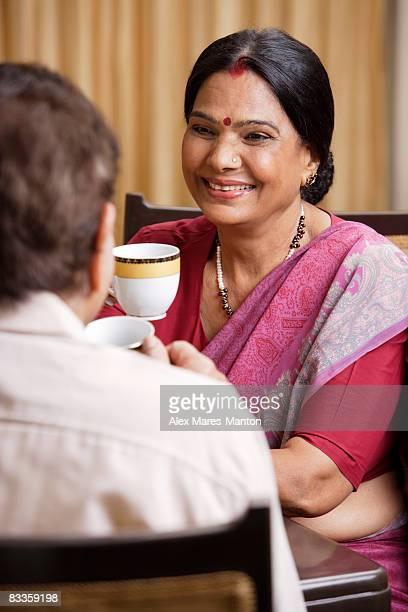 couple having beverage