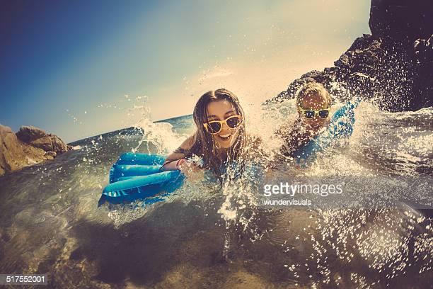 Couple Having Fun At Beach