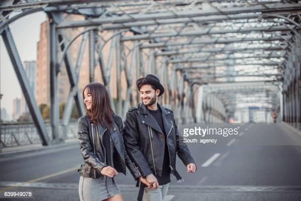 Couple s'amuser