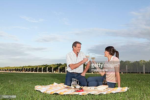 Par tener picnic en el Viñedo