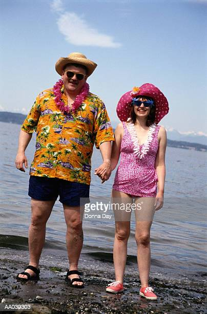 Couple Holding Hands in Seattle, Washington