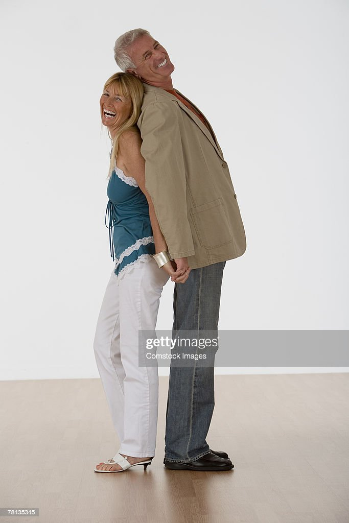 Couple holding hands : Stockfoto