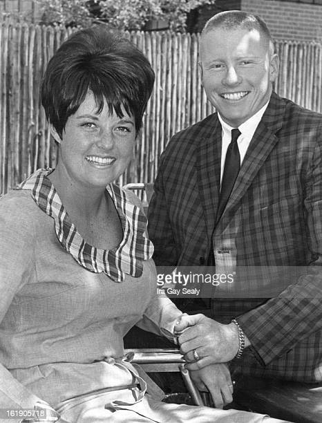 JUN 15 1966 JUN 22 1967 AUG 22 1968 AUG 25 1968 Couple Honored At PreNuptial Party Miss Betty Jane McCullough and her fiance Adolph Coors IV were...
