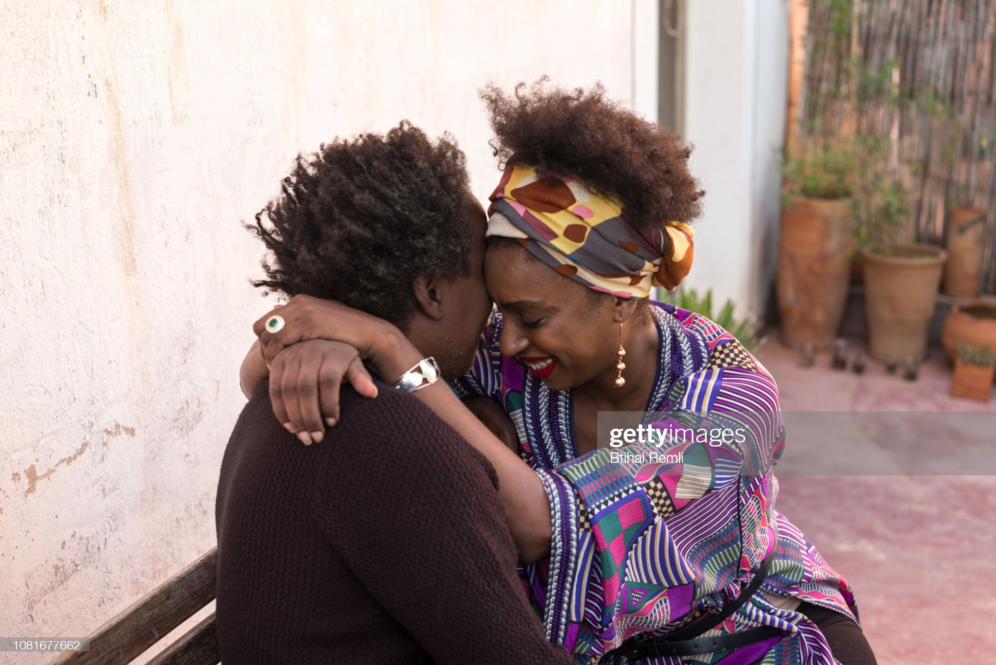 A Couple hugging : Stock Photo