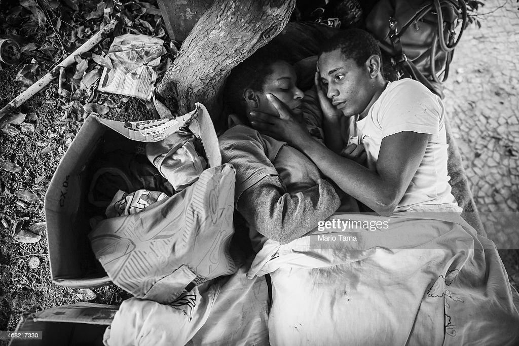 A Portrait Of Rio's Homeless : News Photo