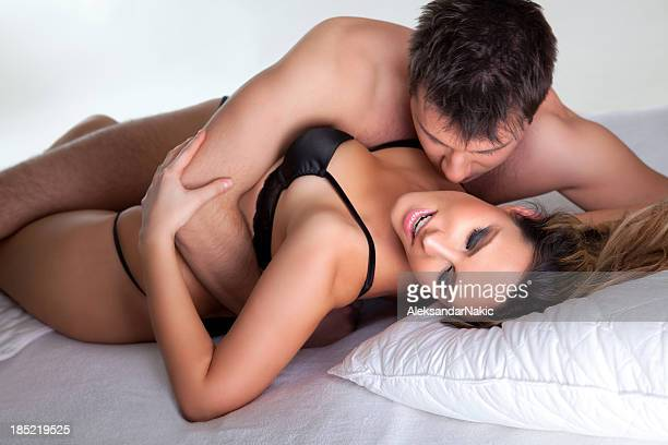 Couple in a bedroom