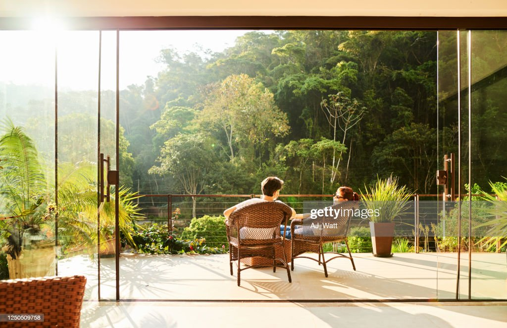 Couple in a vacation : Stock Photo