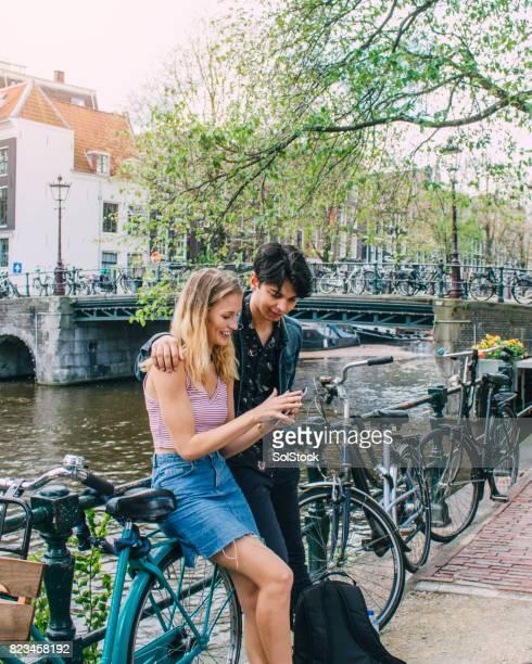 Echtpaar In Amsterdam