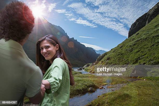 Couple in Aosta Valley, Italy