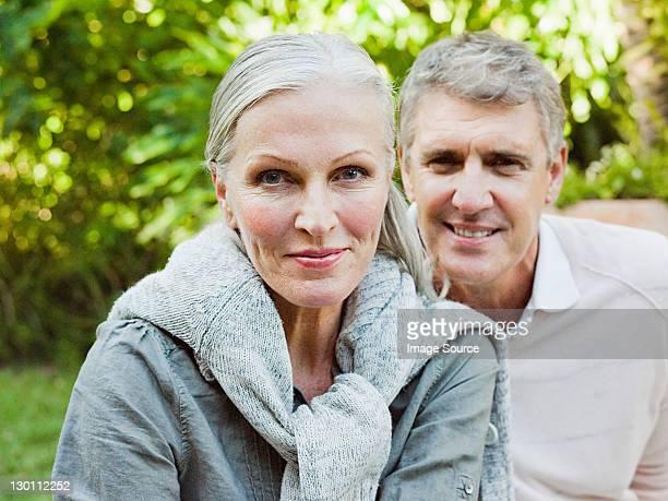 Paar im Garten, Porträt