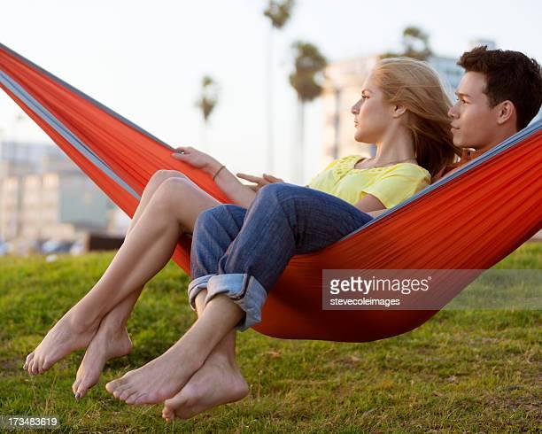 Couple dans un hamac