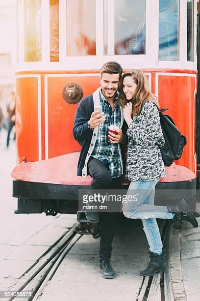 Paar in Istanbul