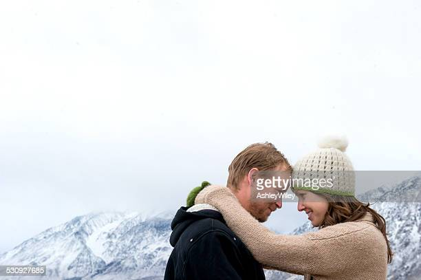 couple in love embrace - fiancé stock pictures, royalty-free photos & images