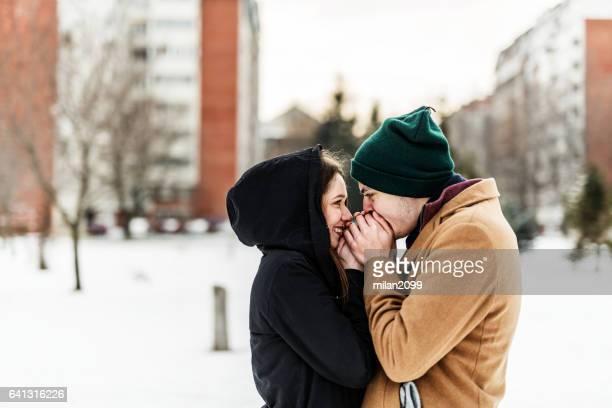 Paar in Liebe