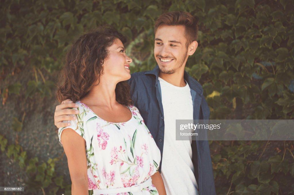 Couple in love : Stock Photo