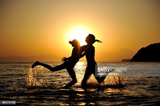 couple in love - zushi kanagawa stock photos and pictures
