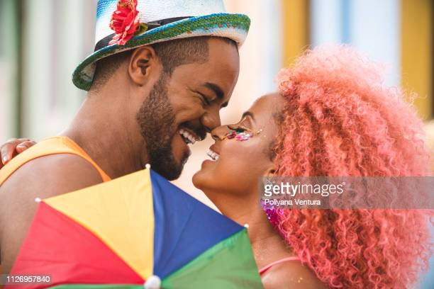 Couple in love with Carnival