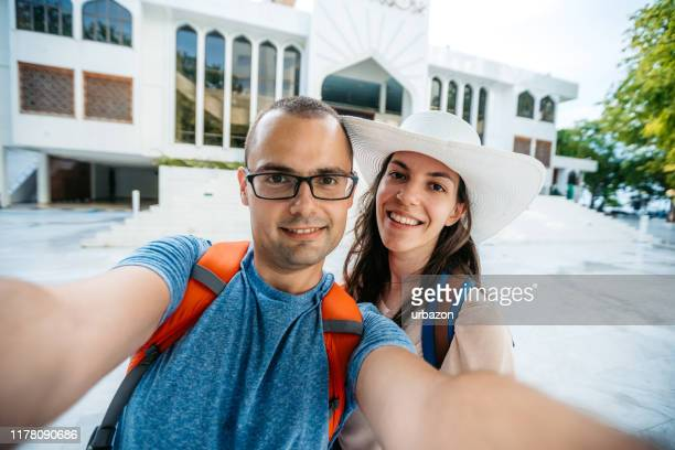 couple in male, maldives - male maldives stock pictures, royalty-free photos & images