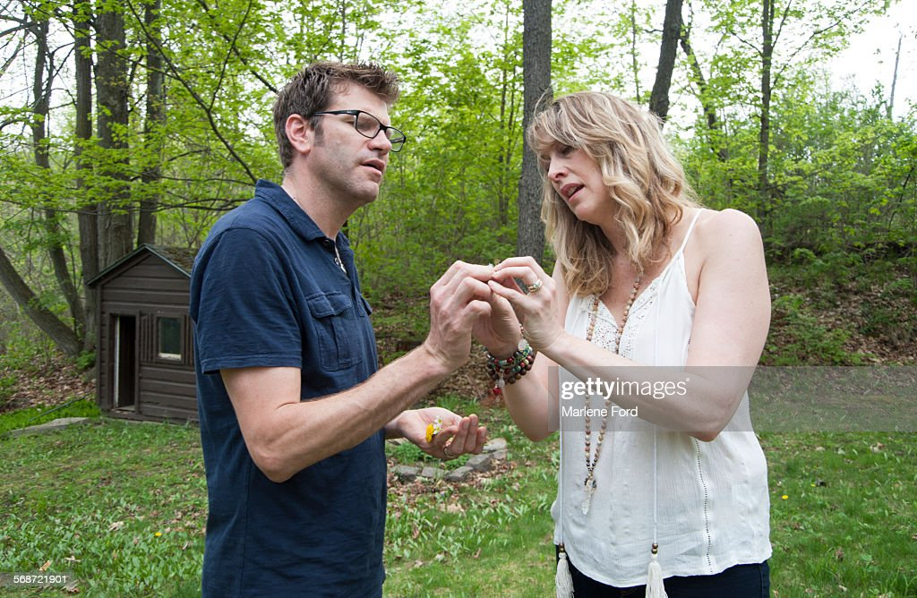 Couple in nature : Stock Photo
