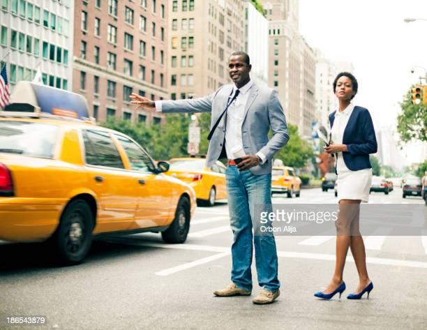 Casal em Nova Iorque