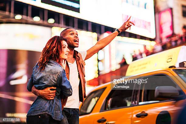 Pareja en Nueva York