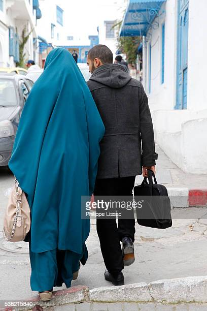 Couple in Sidi Bou Said