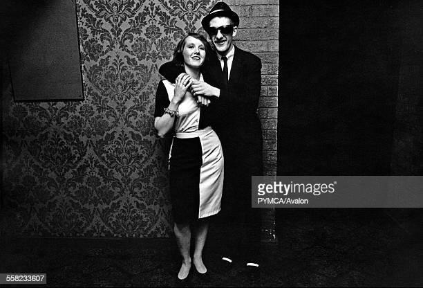 A couple in Ska 2 Tone fashions UK 1980