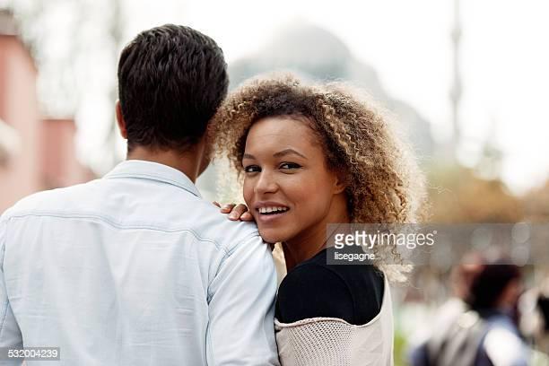 Couple in Sultanahmet