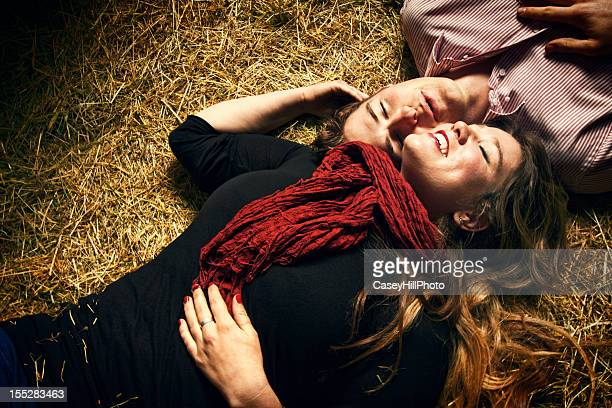Couple in the Hay