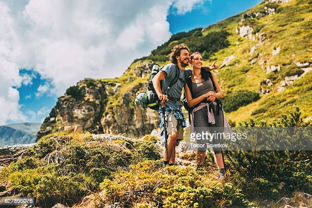 Couple in the mountain