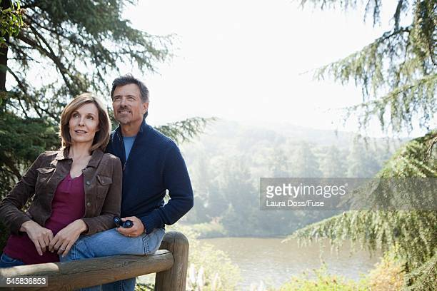 Couple in the wilderness