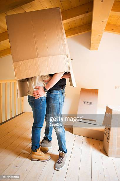 Couple in to a Box During a Moving