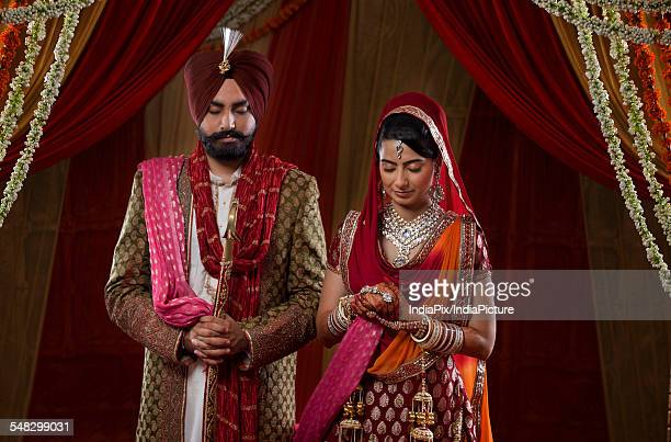 773 Punjabi Wedding Photos And Premium High Res Pictures Getty Images